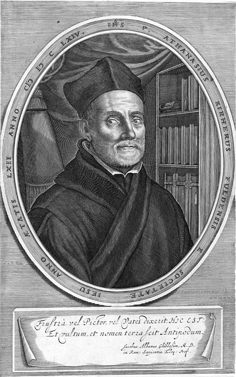 Portrait of Athanasius Kircher